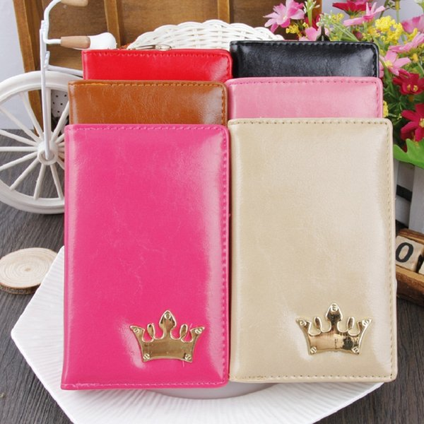2019 New Fashion Ladies Wallet High-grade PU Leather Multi-color Lady Wallet Brand Crown Wallet NQ-043