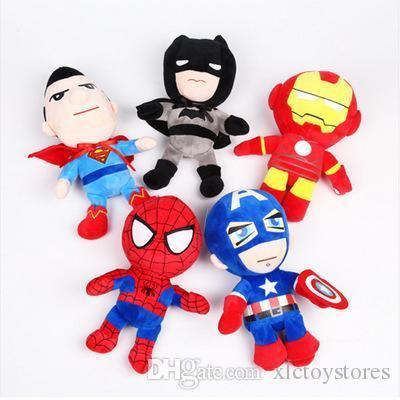 New 25cm Squishy toys Slow Rising Marvel The Avengers Iron Man Captain America Spiderman Squeeze Toy Squishies Stress Relief Toys For Kids