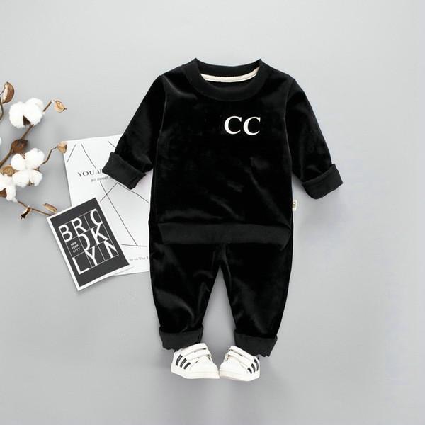 HOT Migliori vendita top designer del marchio di 1-5 anni il bambino dei vestiti delle ragazze + i pantaloni di alta qualità