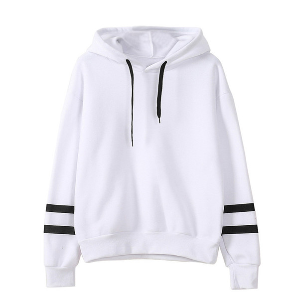NEW Women Autumn Winter Hoodie hoody preppy style girls Fleece Long sleeves Hooded pullover Loose Casual female Sweater