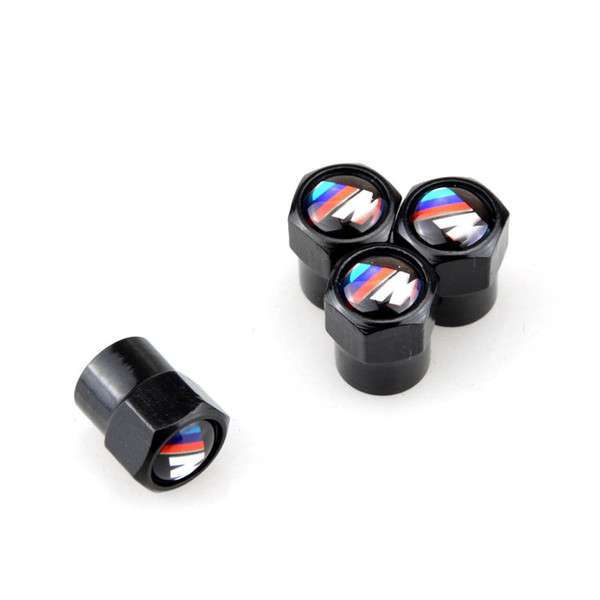 best selling 4PCS Car Tires Valve Caps Air Stem Dustproof Cover For BMW M E39 E36 E60 E3A4 E46 F20 X5 E53 E34 X1 X5