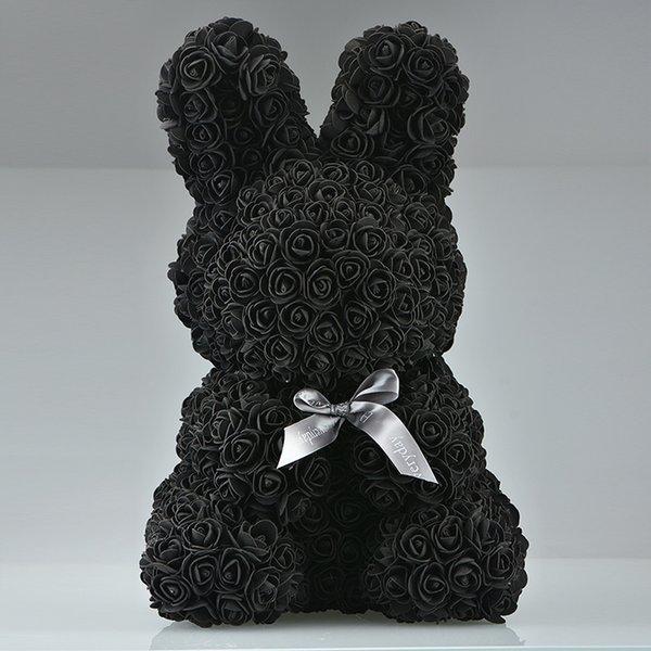 45cm siyah tavşan