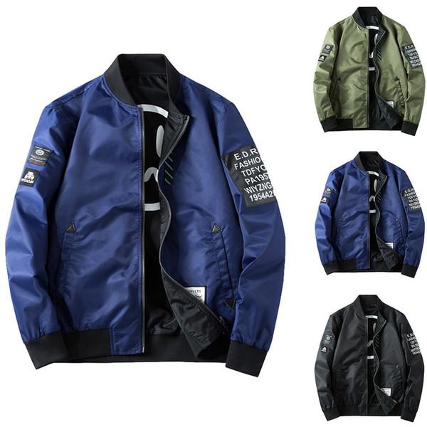 SHUJIN Frühling Herbst Mode Männer BomberJacket Zipprt Casual Streetwear Hip Hop Motorrad Pilot Mantel Männer Kleidung Übergröße 4XL