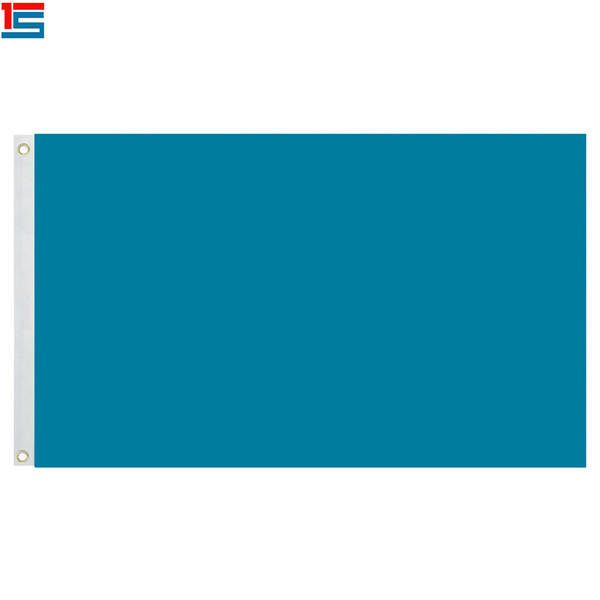 Bandiera blu scuro a tinta unita bandiera solida 3ft X 5ft poliestere, bandiera 90 * 150cm con 2 anelli di tenuta, bandiere di colore semplice