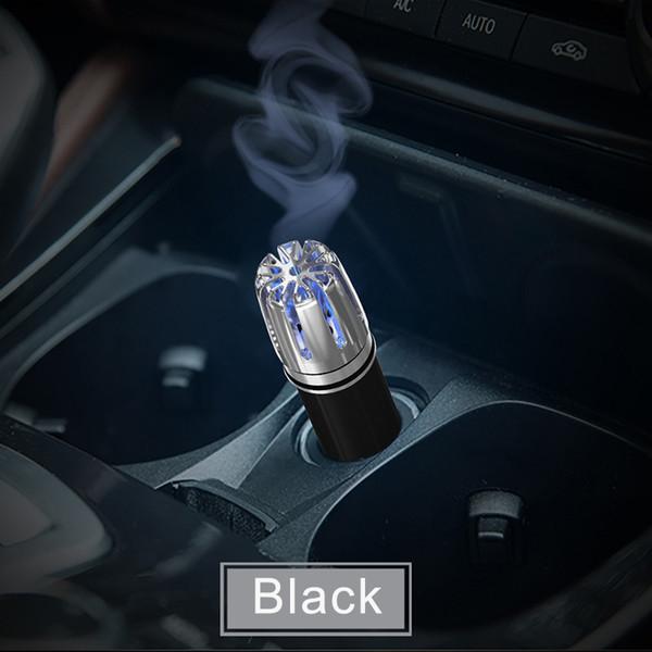 Mini Auto Fresh Air Ionic Purifier Oxygen Bar Ozone Ionizer Cleaner For Car