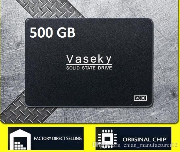 top popular OEM computer External PC laptop 500GB SATA 3 Hard Disk Drive SSD 2.5flash disksolid state drive 2.5inch manufacturer supplier 2019
