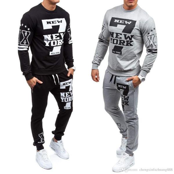 Atacado varejo Mens Jaquetas Mens T-shirt Lazer Esportes terno dos homens Impresso Wear Guards Ternos Dos Esportes Ao Ar Livre dos homens Tops Hatless