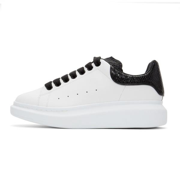 Sapatos de grife de moda de couro de luxo tênis para mulheres dos homens de alta qualidade branco reflexivo Sapatos de plataforma altura crescente jogging andar a45