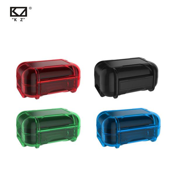 KZ AS1 için arphone Aksesuarları ABS Reçine Su geçirmez Kutu Drop Direnç Koruyucu Kılıf Taşınabilir Renkli Taşınabilir Tutma Saklama Kutusu Vaka ...