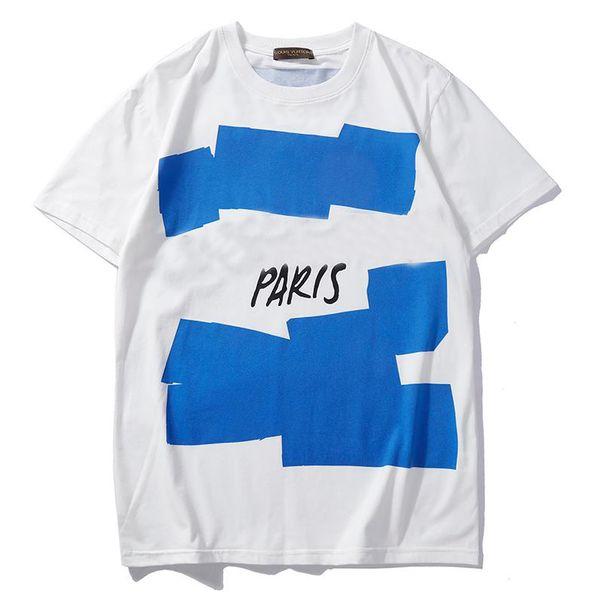 19SS Designer Frauen Herren Shirt Sommer Rundhals Tops Casual Style Marke T Shirts für Kurzarm Shirt Kleidung Brief Muster Gedruckt Tees