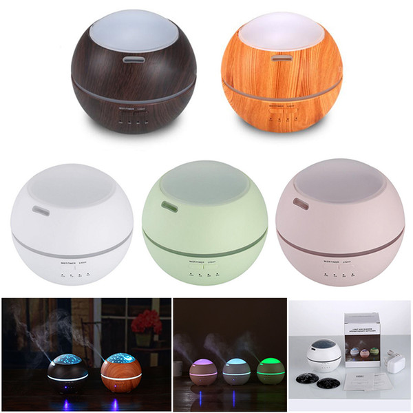 150ml Ultrasonic Air Humidifier USB 7 Colour led lights Mist Maker Fogger Electric Aroma Diffuser Essential Oil Aromatherapy Household