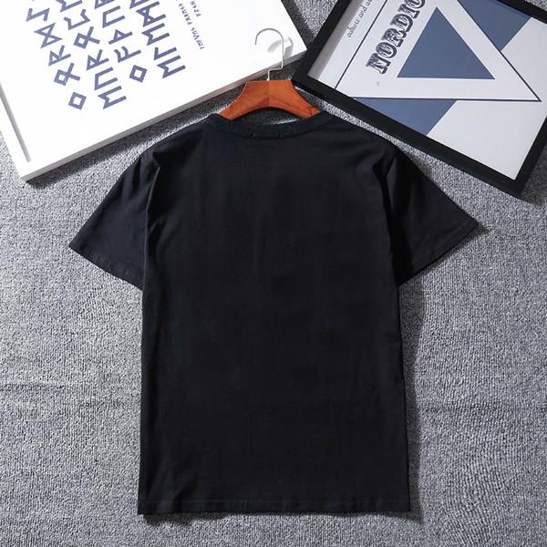 19ss vendita calda marca estate uomo e donna T-shirt lettera G a maniche corte modelli paio T-shirt moda casual manica corta