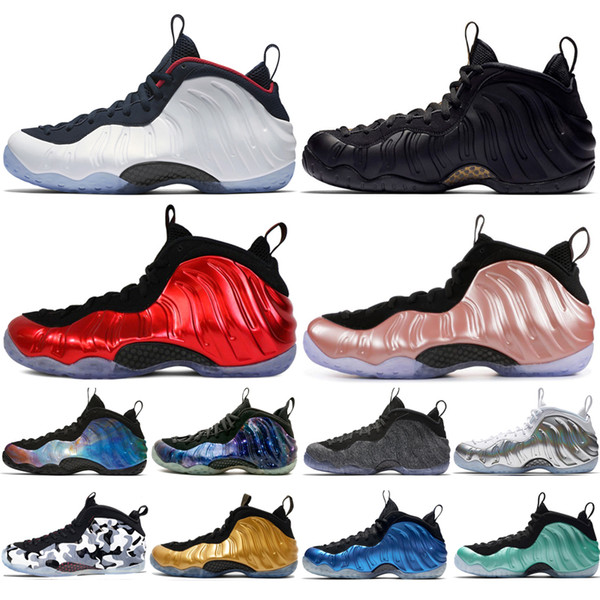 Cheap New Alternate Galaxy 1.0 2.0 Olympic Penny Hardaway Sequoia Element Rose Mens Basketball Shoes foams one men sports sneakers designer