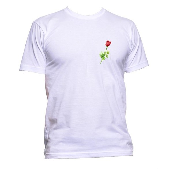 Red Pocket Rose Feminist Feminism T-Shirt Mens Womens Unisex Fashion Slogan Gift Size Discout Hot New Tshirt Top Free Shipping T-shirt