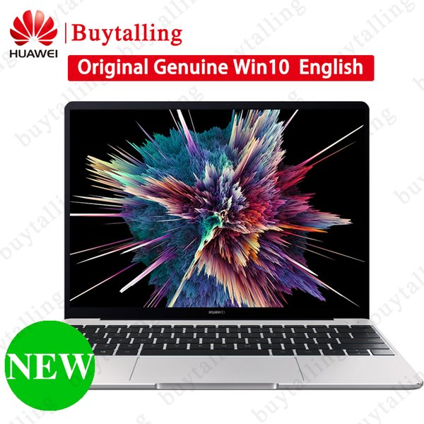 New HUAWEI MateBook 13 PC Computer 13 inch i5 i7 Quad Core RAM 8GB ROM 256GB Notebook Win 10 English 41.838Wh Battery Laptop