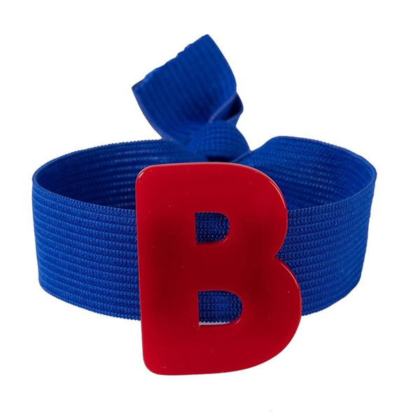 Cheap Jewelry Fashion net red with the popular color big letters tie band ring rope headdress hair accessories