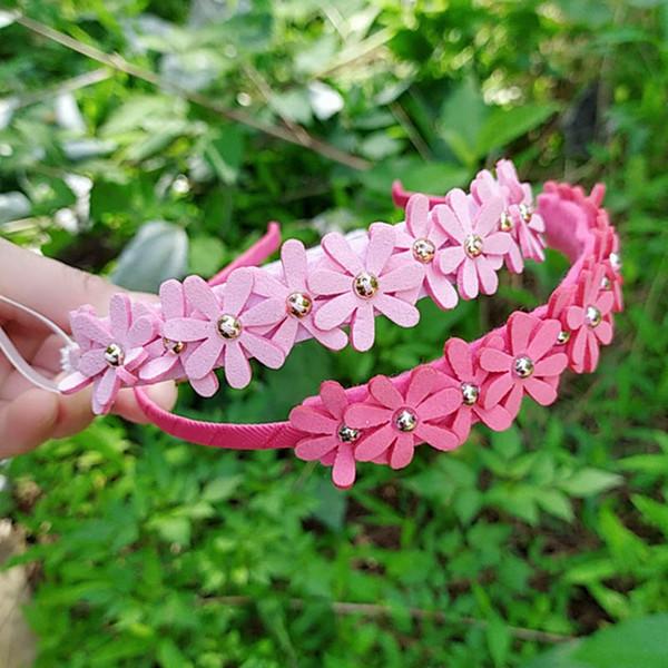 Arcos de cabelo crianças varas de cabelo flor meninas headband hairpiece designer headband acessórios para o cabelo para meninas designer headbands a5642