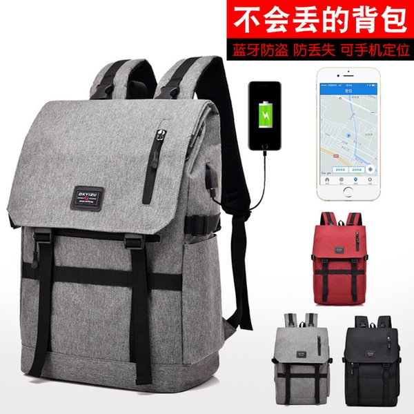 Angel2019 Will Variable Fold Both Shoulders Men And Women Backpack Joker Trend Can Location Package