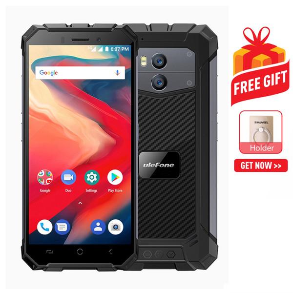 Ulefone Armor X2 Rugged Phone 2GB+16GB EU Version P68 Waterproof Dustproof Shockproof Dual Back Cameras 5500mAh BatteryFace & Fingerprint