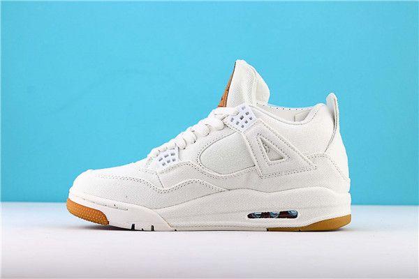 Con caja Denim NRG 4s Hombres Zapatillas de baloncesto Mujer Zapatillas de deporte Negro ls Denims Jeans Alta calidad para hombre al aire libre Deportivas deportivas