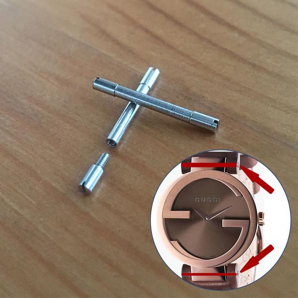 tube à vis en acier pour montre à quartz à emboîtement 29mm YA1335
