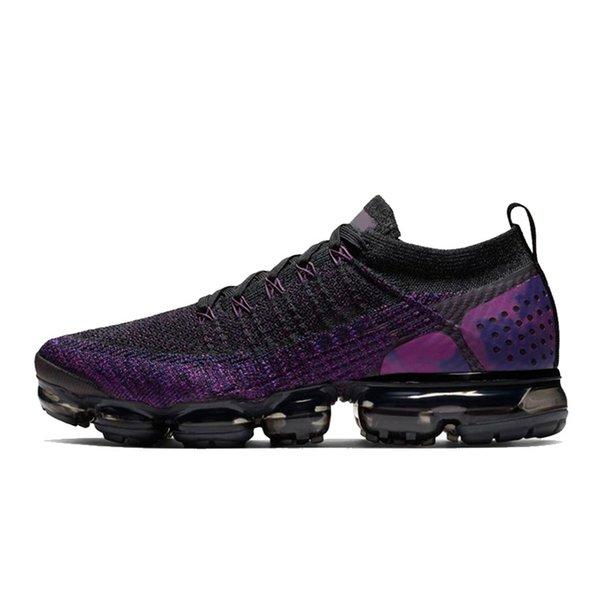 36-45 negro púrpura