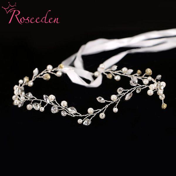 Hair Jewelry Bridal Hair Accessories New Tiara Head Piece Fashion Hair ornaments wedding party tiaras And crowns Headbands RE600 D19011103