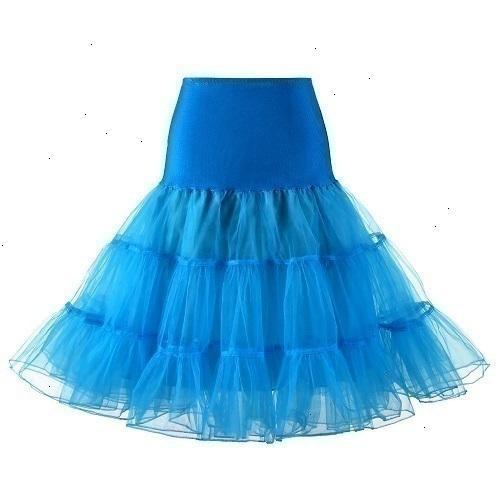 Небесно-голубая юбка