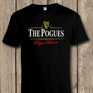 FUNNY 'THE POGUES' IRISH BEER/PUNK MUSIC Tribute T SHIRT All Sizes to 5XL