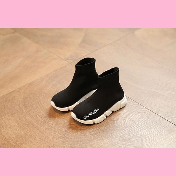 Designer Scarpe da corsa per bambini Scarpe da corsa Ragazzi Ragazze Scarpe da ginnastica causate Nero Rosso Tempo libero Scarpe da ginnastica comode Vendita calda