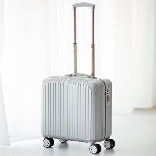 Men Business Travel Trolley Case Mini Cabin 18 Inches Luggage Bag Lady Small Trolley Case Cross Section Travel Light Luggage