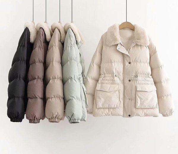 Mode de luxe récent Designer spécial à manches longues avec capuche Designer parkas Vintage Outwears Casual Manteau d'hiver pour les femmes 4 couleurs