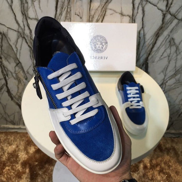 duping520 шнуровка синий плоские черные туфли мужчины платье обувь мокасины мокасины кружева ИБП монах ремни сапоги водители натуральная кожа кроссовки