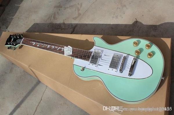 2015 New Factory Custom Shop 1960 Corvette Rosewood fingerboard green electric guitar 1960 Corvette electric guitar