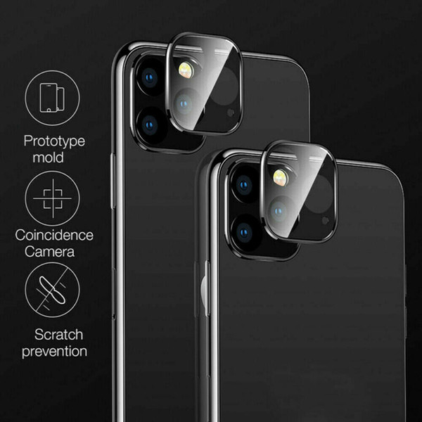 For iPhone 11 Pro Max Camera Lens Protector Guard Tempered Glass Film Lens Cover Protective