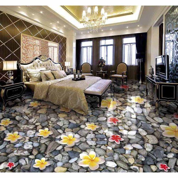 Großhandel Wasserdichte Tapete Für Badezimmer Wand Steinboden 3d Boden  Malerei Tapete Pvc Selbstklebende Tapete Von Yiwukuangdu1688, $50.26 Auf ...