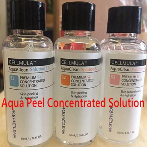 New aqua peeling olution 50ml per bottle hydra dermabra ion facial erum clean ing for normal kin dhl delivery