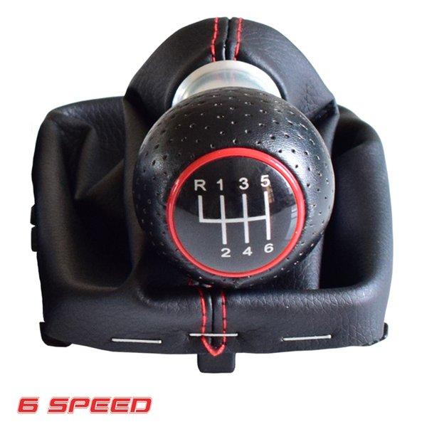 Черно-6Speed-красный
