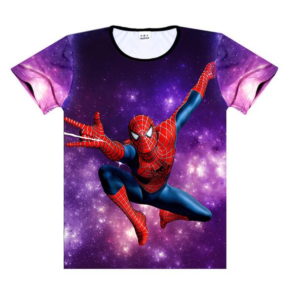 2019 Newest Venom t shirt 3D Printed Men Women Casual Shirt Short Sleeve Fitness T Shirt Deadpool Tees Spider man Skull Tops