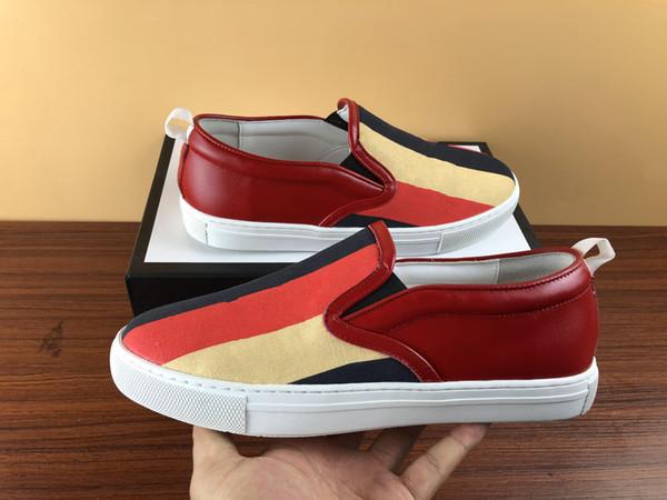 Moda Mulher homem Designer sapatos Lace-up Sapatos Baixos Abelha tigre cobra vestido de senhora Bordado sneake menino menina sapato branco sapatos casuais