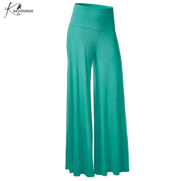 2019 Sommer Hosen Frauen Für Hosen Plus Größe Frauen Stretchy Schwarz Hohe Taille Weiße Hosen Weibliche Lose Große Pantalon Femme MX190716