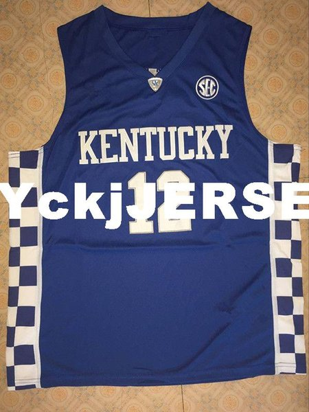 promo code 20473 f1e46 2019 12 Karl Anthony TOWNS KENTUCKY WILDCATS Basketball Jerseys Mens 100%  Double Stitched Top Quality XS 6XL Vest Jerseys NCAA From Hyckjjersey, ...
