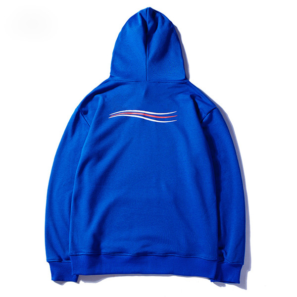 Hoodies de luxo Hip Hop Das Mulheres Dos Homens Designer de Hoodies Preto Branco Azul Pullover Hoodies Camisola de Inverno Tamanho M-XXL