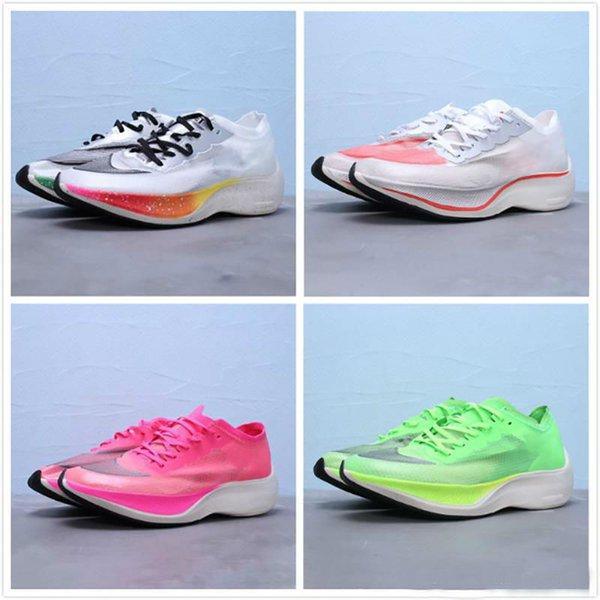 Новый ZoomX Vaporfly NEXT% Be True Мужчины Женщины Кроссовки Спортивная обувь Кроссовки Легкие кроссовки для бега на открытом воздухе