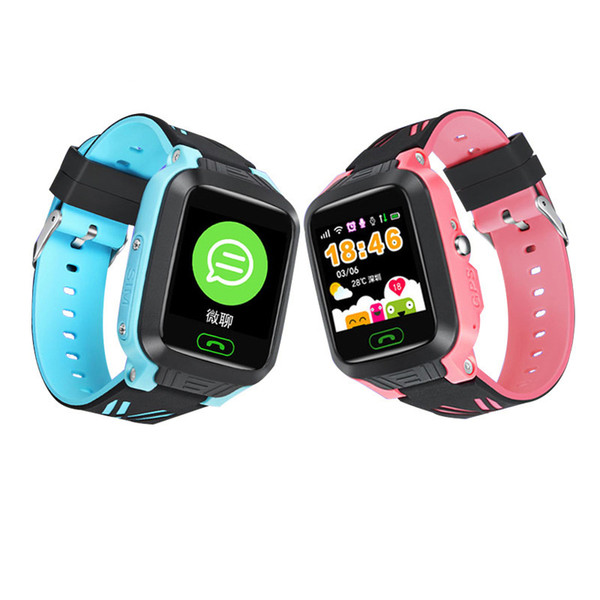 Kids GPS SOS SMS SIM Hand Smart Watches Phone Waterproof Android IOS Girl Camera Bracelet Baby Connect Smartwatch for Children