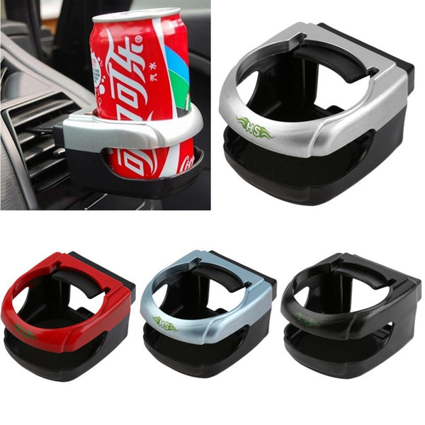top popular Clip-on Auto Car Truck Vehicle Air Condition Vent Outlet Can Drinking Water Bottle Coffee Cup Mount Stand Holder Accessories 2019