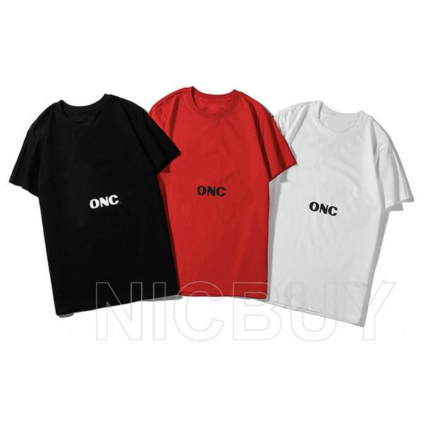 yaz yeni tasarımcı lüks mon kısa kollu baskı tişört tişört üst etiketi gündelik t gömlek tişört giyim, normal mektup mens