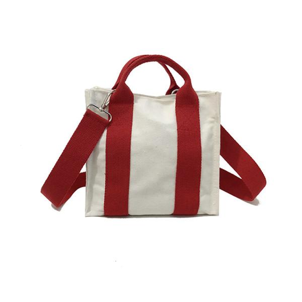 Hot Selling Stripe Canvas Handbag Women Bags Queen Handbags Beach Case Travel Luxury Bag Shopper Bags For Women 2019 New Summer