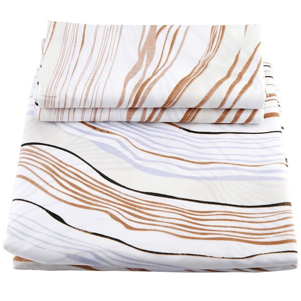 3 Pcs Luxury Egyptian Cotton Bedding Set Twin Queen King size Bed set Duvet Cover Fitted/Bed sheet