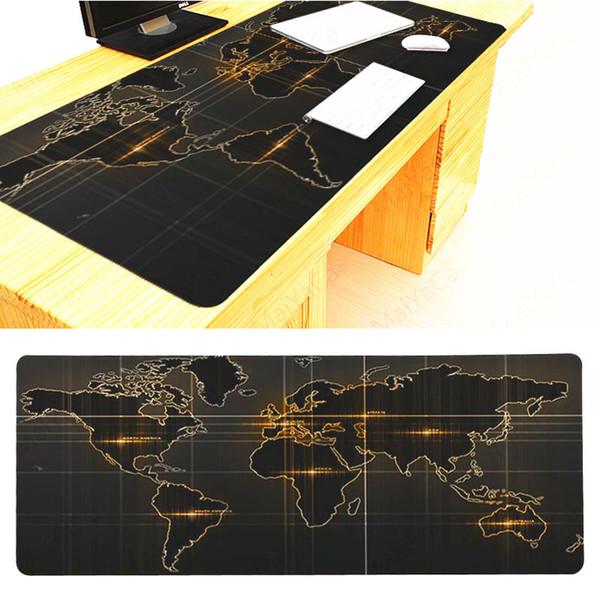 mapa negro 90 40cm de oro